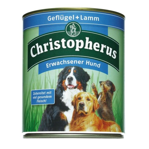 Christopherus Hundefutter: Geflügel & Lamm