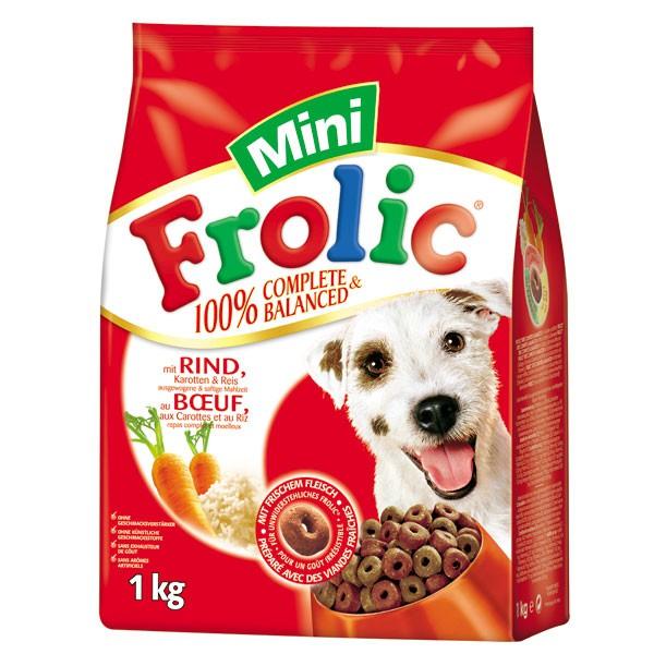 Frolic Complete Mini mit Rind, Karotten und Reis 1kg
