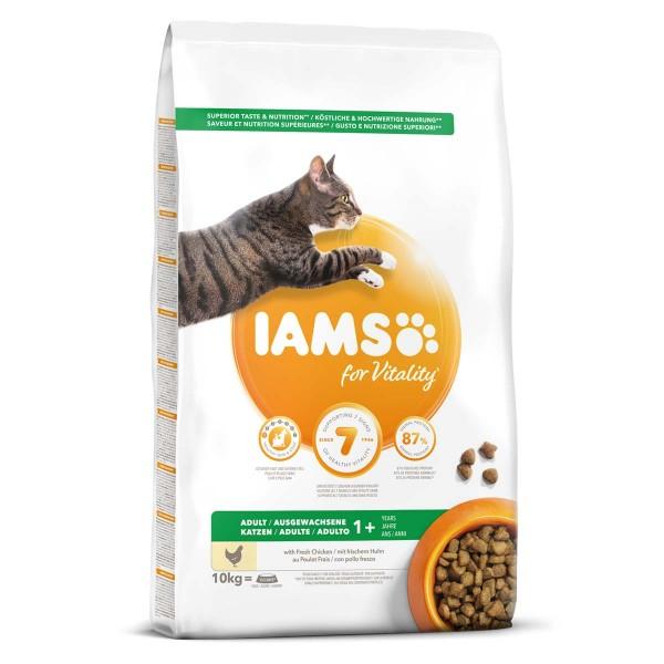 IAMS Katze Trockenfutter Adult Huhn