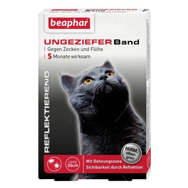 beaphar Reflektierendes Ungezieferband 35cm