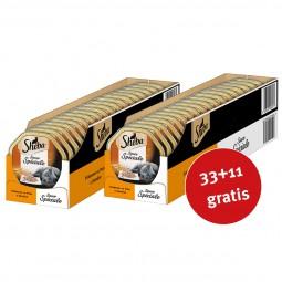 Sheba Katzenfutter Sauce Speciale Frikassee mit Pute & Gemüse 44x85g