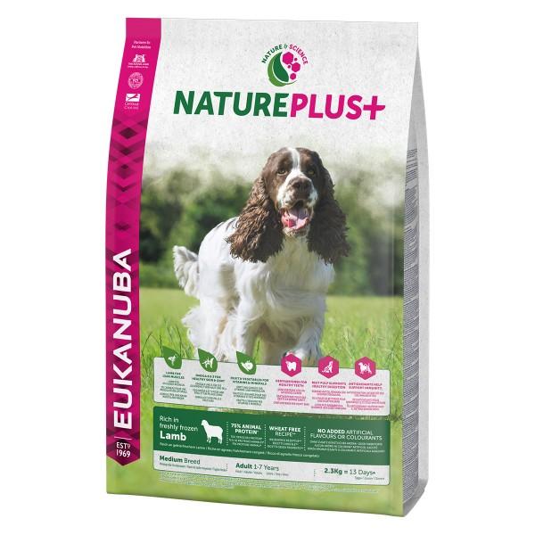 Eukanuba NaturePlus+ Adult Medium Breed Lamm