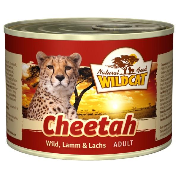 Wildcat Cheetah mit Wild, Lamm und Lachs