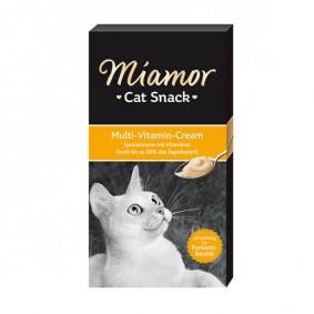 Miamor Ergänzungsfuttermittel Cat Snack Cream 6x15g