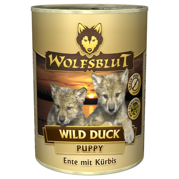 wolfsblut wild duck puppy mit entenfleisch kaufen bei zooroyal. Black Bedroom Furniture Sets. Home Design Ideas
