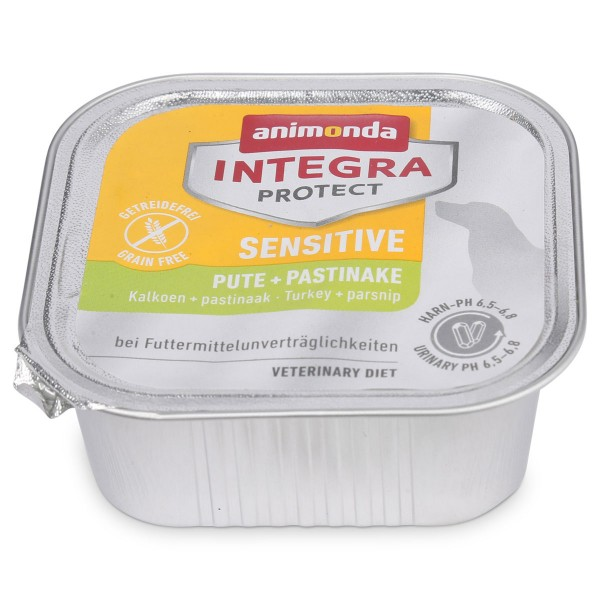 Animonda Hundefutter Integra Protect Sensitive Pute und Pastinaken
