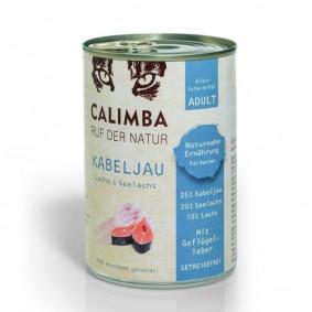 Calimba Kabeljau, Seelachs und Lachs 400g