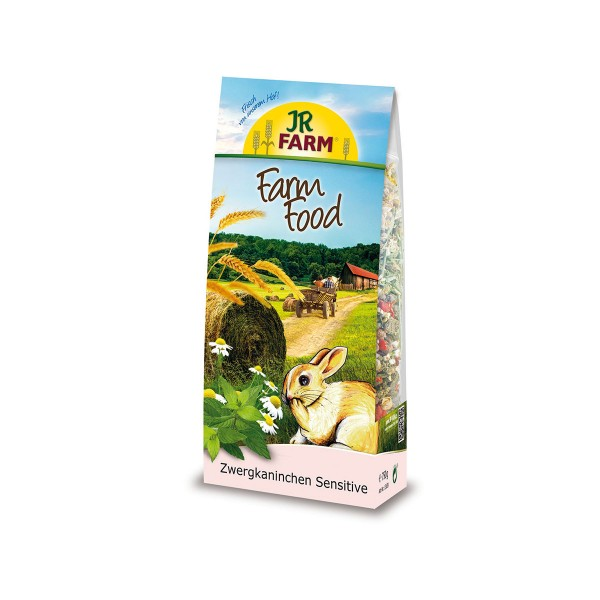 JR Farm Food Zwergkaninchen Sensitive 750 g