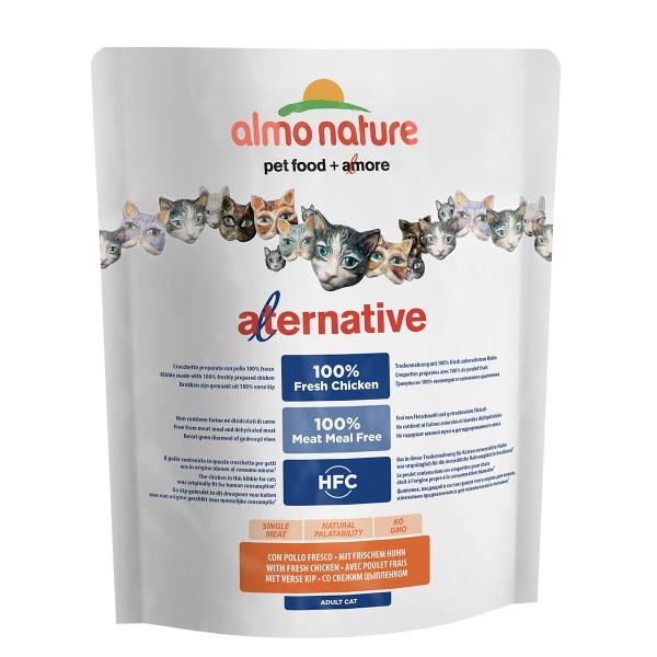 Haustier: Almo Nature Alternative dry Cat Huhn und Reis 2kg