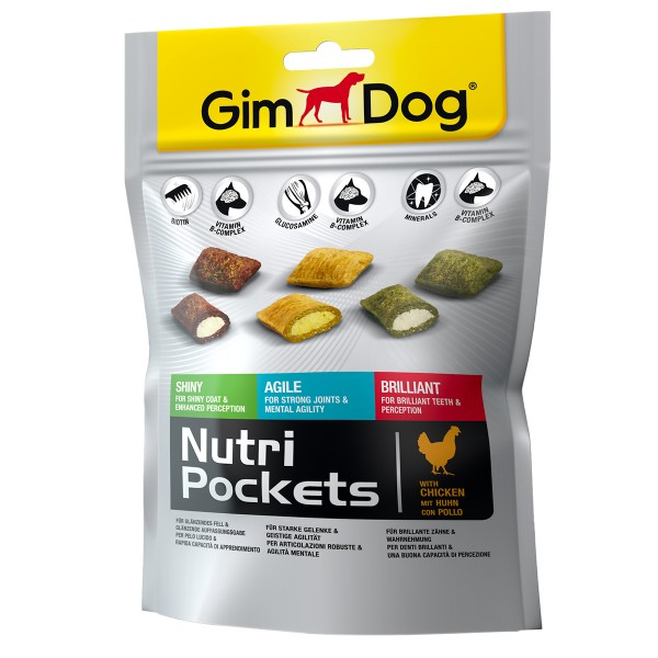 GimDog Nutri Pockets Mix 150g