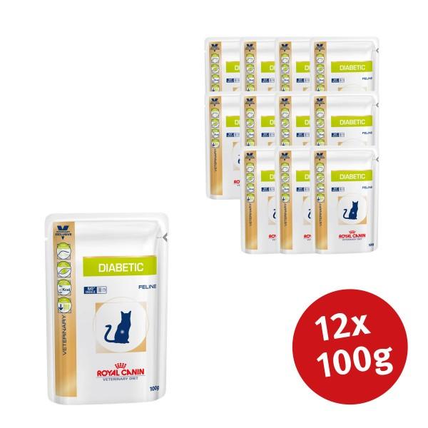 Royal Canin Vet Diet Nassfutter Diabetic - 12x100g jetztbilligerkaufen