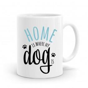 ZooRoyal Keramik-Tasse Home is where my dog is