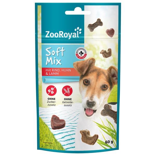 ZooRoyal Soft Mix mit Rind, Lamm & Huhn
