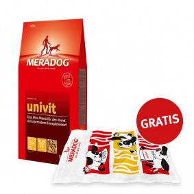 Mera Dog Univit 12,5kg plus GRATIS Badehandtuch
