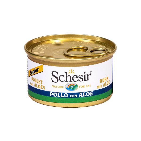Schesir Cat Senior Huhn - 85g