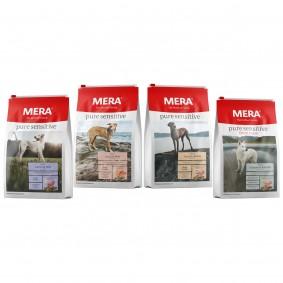 MERA pure sensitive Trockenfutter Mixpaket 4x1kg