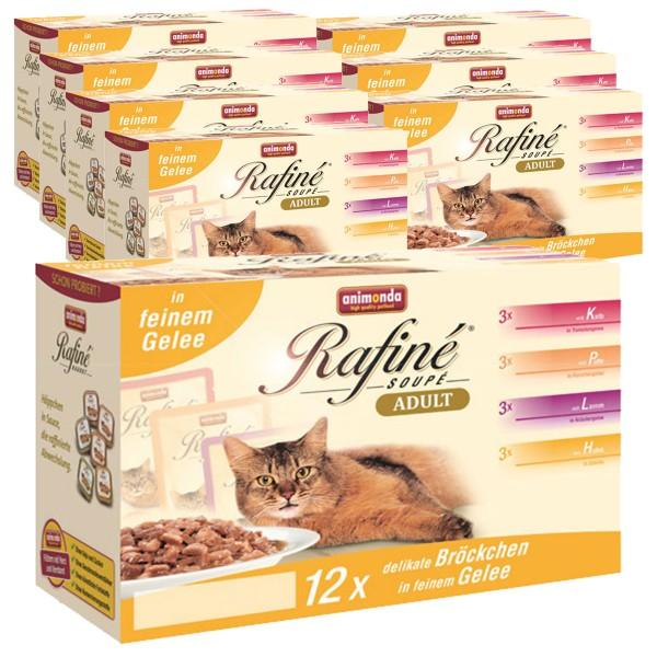 Animonda Katzenfutter Rafiné Soupé Multipack No.2 96x100g