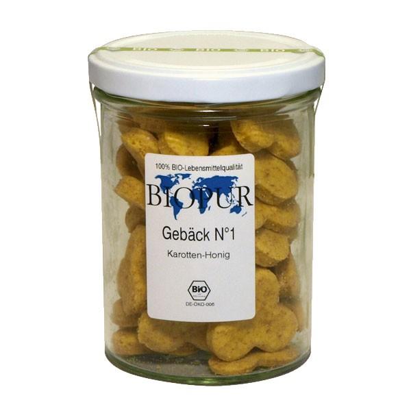 BIOPUR Bio Snack No 1 Karotten-Honig-Spezialität 150g