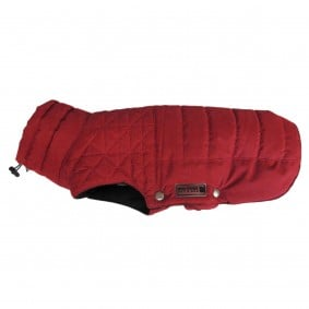 Wolters Thermosteppjacke Boston mit RV und Kordelzug in rot