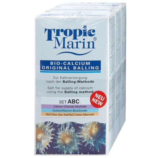 Tropic Marin Bio-Calcium Original Balling Set ABC 3x1kg