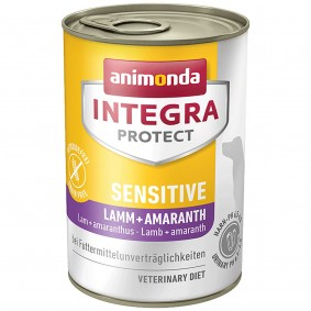 Animonda Integra Protect Hundefutter Adult Sensitive Lamm und Amaranth