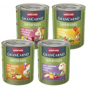 Animonda GranCarno Superfood Mixpaket 24x800g