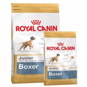 Royal Canin Boxer Junior 12kg+3kg Gratis!
