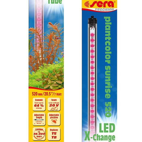 LED X-Change Tubes 520mm - plantcolor sunrise