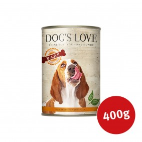 Dog's Love Nassfutter B.A.R.F Pute Pur