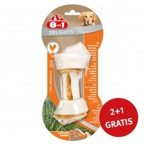 8in1 Delights Kauknochen Chicken/Huhn  M 1 Stück 2+1 GRATIS