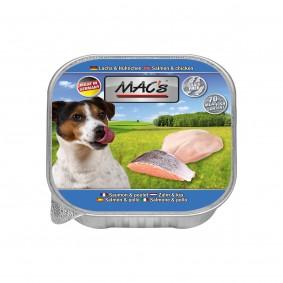 Mac's Dog Lachs & Hühnchen