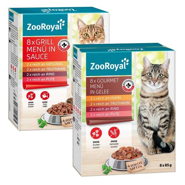 ZooRoyal Menü Multipack Mixpaket 96x85g