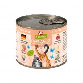 GranataPet Katze - Delicatessen Dose Kalb PUR