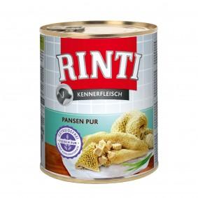 Rinti Nassfutter Kennerfleisch mit Pansen 800g