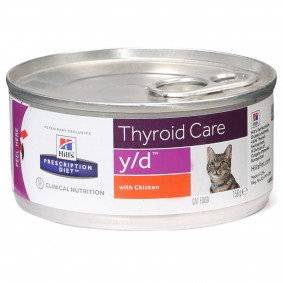 Hill's Prescription Diet y/d Thyroid Care Katzenfutter Original