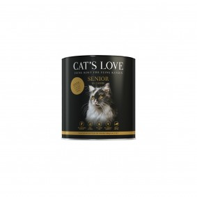 Cat's Love Senior kachní maso, 400g