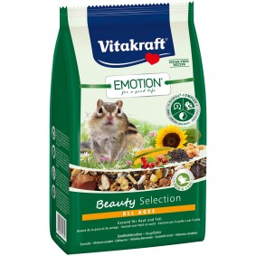Vitakraft Emotion Beauty Selection Streifenhörnchen 600g