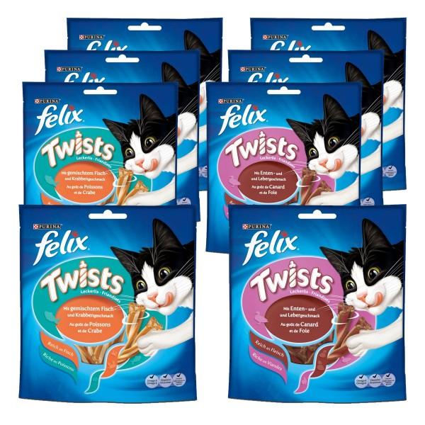 Felix Katzensnack Twists 8x50g Multipack