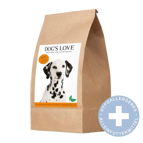 PetCo GmbH Dog´´s Love Trocken Pute mit Süßkartoffel & Preiselbeere - 2kg - broschei