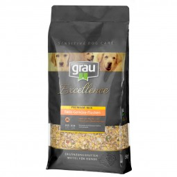 Grau Excellence Hunde-Trockenfutter Premium-Mix Basis-Gemüse-Flocken