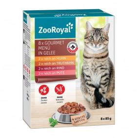 ZooRoyal Gourmet Menü in Gelee Multipack 8x85g