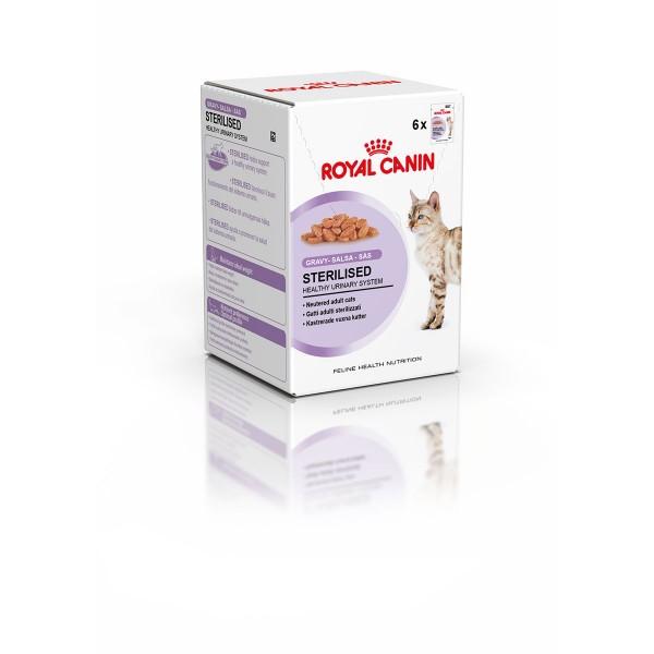 Katzenfutter Sterilised 6er-Pack