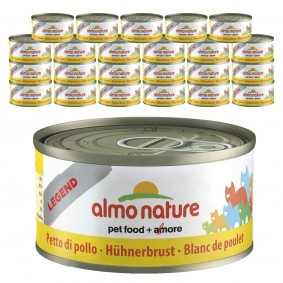 Almo Nature Legend Katzenfutter 24x70gHühnerbrust