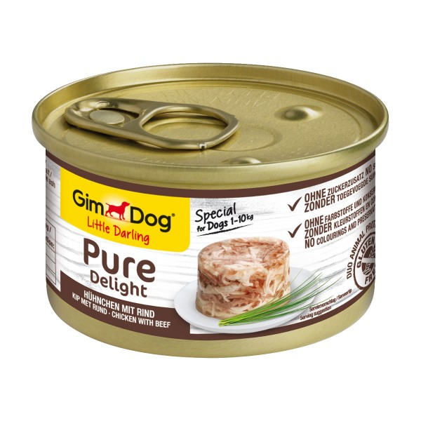 GimDog Little Darling Pure Delight Hühnchen mit Rind