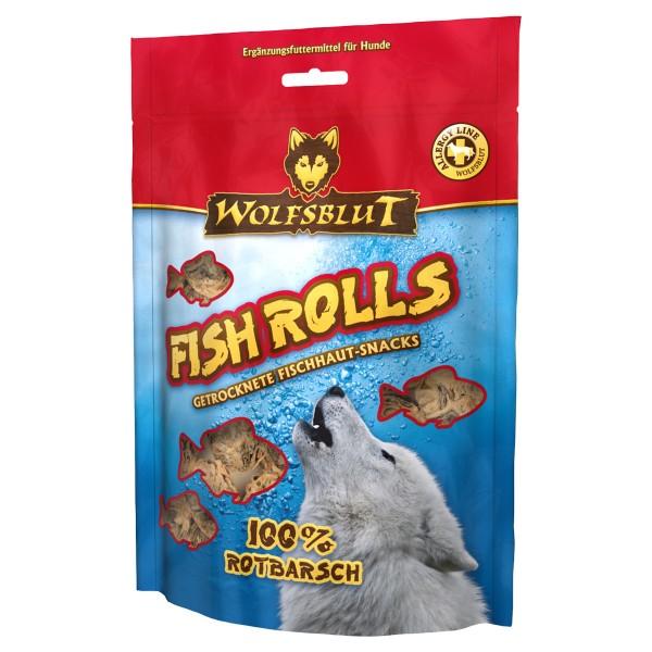 Wolfsblut Fish Rolls Rotbarsch 100g