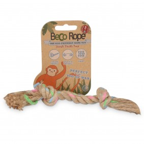 Beco Pets Hundespielzeug Beco Rope - Jungle Double Knot