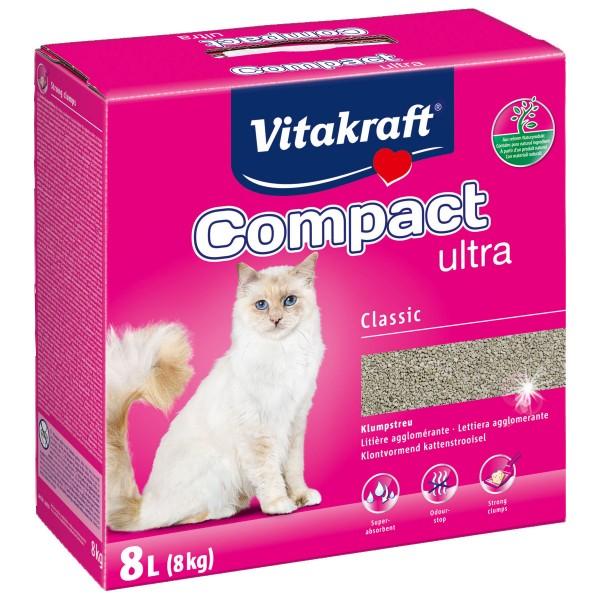 Vitakraft Katzenstreu Compact Ultra