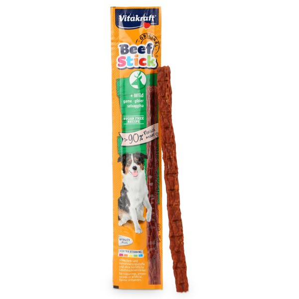Vitakraft Hundesnack Beef-Stick - mit Wild