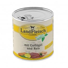 Landfleisch Dog Pur s drůbežím masem a rýží, extra dietní