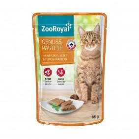 ZooRoyal Genuss Pastete mit Geflügel und Leber